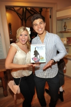 Degrassi stars Jessica Tyler and Luke Bilyk