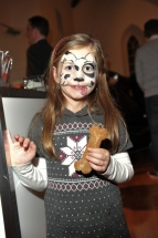 Moxie loved the face painting
