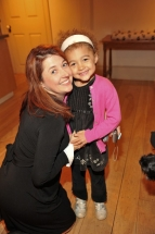 Patti Sullivan, Host, CBC Kids with darling daughter